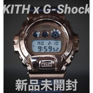ジーショック(G-SHOCK)の新品未開封 限定 KITH X G-SHOCK GM6900 25周年記念モデル(腕時計(デジタル))