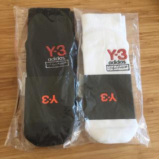 ワイスリー(Y-3)のY-3 ソックスセットyhoji yamamoto ヨウジヤマモト  メンズ(ソックス)