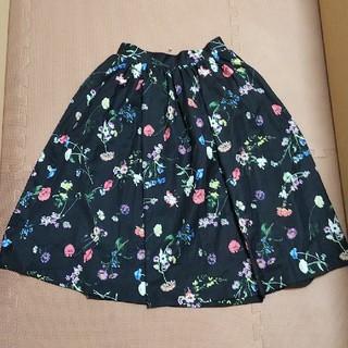 トランテアンソンドゥモード(31 Sons de mode)のトランテアンソンドゥモード 花柄スカート(ロングスカート)