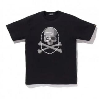アベイシングエイプ(A BATHING APE)のMM VS BAPE TEE ブラックMサイズ(Tシャツ/カットソー(半袖/袖なし))