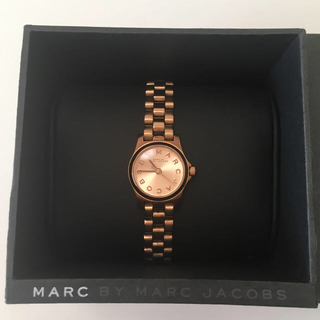 MARC BY MARC JACOBS - MBM3200 ピンクゴールド 腕時計