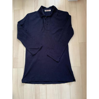 45rpm - 45rpm  ポロシャツ 七分袖 紺