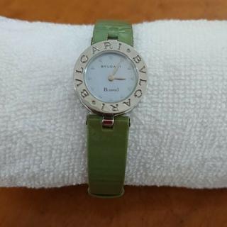 BVLGARI - BVLGARIレディース 腕時計 B.zero1 ブルーシェル