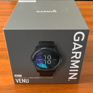 GARMIN - 新品未使用! GARMIN  VENU  black slate