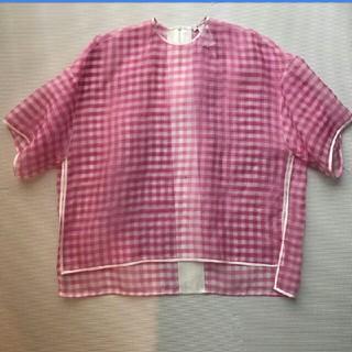 Drawer - クーポン発行中お値下げ☆ブラミンク  BLAMINK  ギンガムチェック ピンク