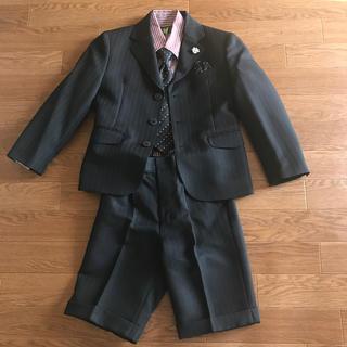 ミチコロンドン(MICHIKO LONDON)のセレモニー 入園・卒園式 子供スーツ4点セット120(ドレス/フォーマル)