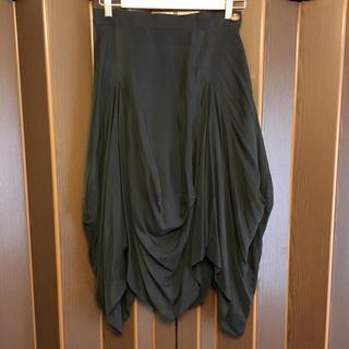 ヴィヴィアンウエストウッド(Vivienne Westwood)のヴィヴィアンウエストウッド☆ブラック変形スカート(ロングスカート)