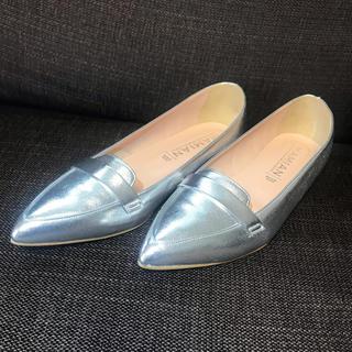 マミアン(MAMIAN)の新品未使用 MAMIANフラットシューズ25cm(ローファー/革靴)