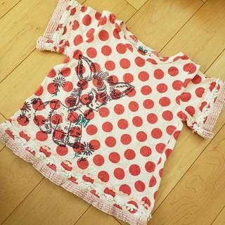 バナバナ(VANA VANA)のBoo♪様専用 バナバナドットTシャツ&バナバナ花柄スカート2点(Tシャツ/カットソー)