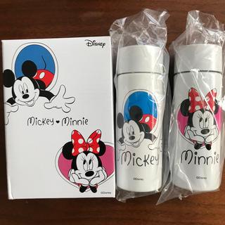 ミッキーマウス(ミッキーマウス)のアートオリジナルポケットボトル(水筒)