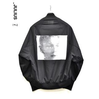 JULIUS - 18ss_JULIUS Print MA-1 Jacket
