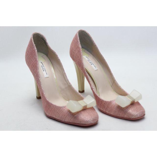 VII XII XXX(セヴントゥエルヴサーティ)の新品♪VII XII XXX 本革リボンオーナメントパンプス(35半) レディースの靴/シューズ(ハイヒール/パンプス)の商品写真