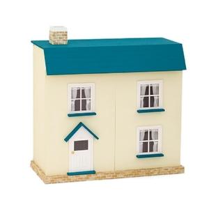 フェリシモ(FELISSIMO)の【新品】フェリシモ☆FELISSIMO☆青い屋根のシャビーシック風 ドールハウス(その他)