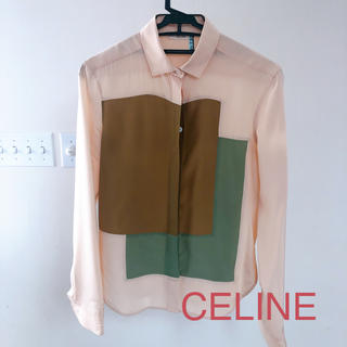 celine - CELINE セリーヌ シャツ ブラウス