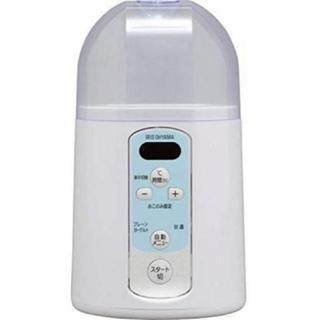 アイリスオーヤマ(アイリスオーヤマ)のアイリスオーヤマ ヨーグルトメーカー 温度調節機能付き ホワイト IYM-014(調理道具/製菓道具)