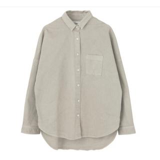 upper hights ドロップショルダー ビッグシャツ(シャツ/ブラウス(長袖/七分))