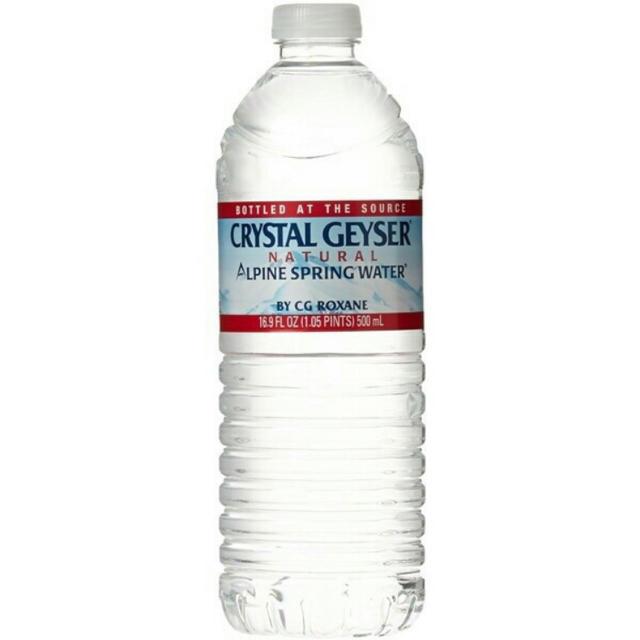 クリスタルガイザー 500ml×48本 ミネラルウォーター 水 ペットボトル 食品/飲料/酒の飲料(ミネラルウォーター)の商品写真