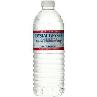 クリスタルガイザー 500ml×48本 ミネラルウォーター 水 ペットボトル