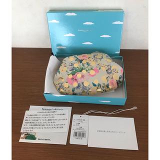 TSUMORI CHISATO - ツモリチサト マルチケース がま口 ドットフラワー  ネコ