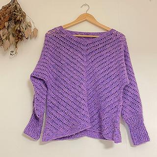 vintage knit(ニット/セーター)