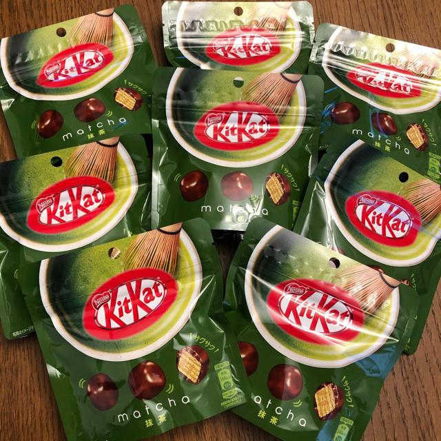 Nestle(ネスレ)の✨ネスレ キットカット 抹茶 8袋✨ 食品/飲料/酒の食品(菓子/デザート)の商品写真