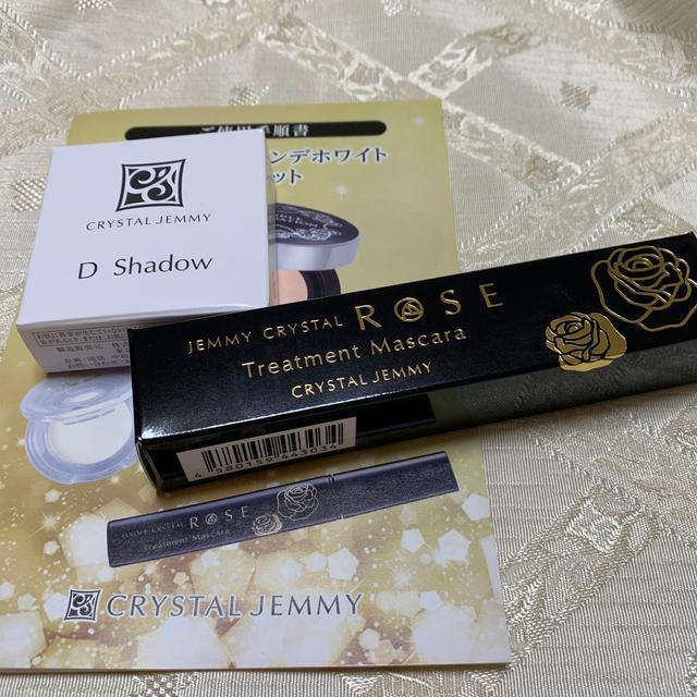 クリスタルジェミー(クリスタルジェミー)のジェミークリスタルローズトリートメントマスカラ&Dシャドー コスメ/美容のベースメイク/化粧品(その他)の商品写真