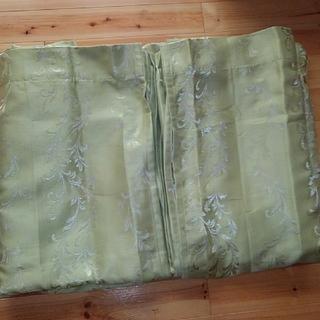 ディノス(dinos)の掃き出し窓用カーテン 107CM幅x224CM丈2枚(カーテン)