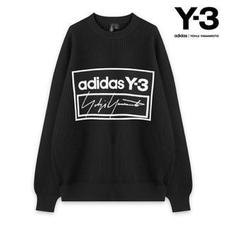 ワイスリー(Y-3)のY-3 ニット ヨージヤマモト adidas shareef パーカー Tシャツ(ニット/セーター)