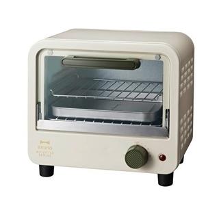 イデアインターナショナル(I.D.E.A international)のブルーノ ミニトースター ベージュ(調理機器)