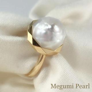 ◆新作◆ K18YG 南洋華マベパールリング(リング(指輪))
