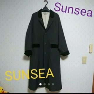 サンシー(SUNSEA)のSUNSEA 18awコート(チェスターコート)