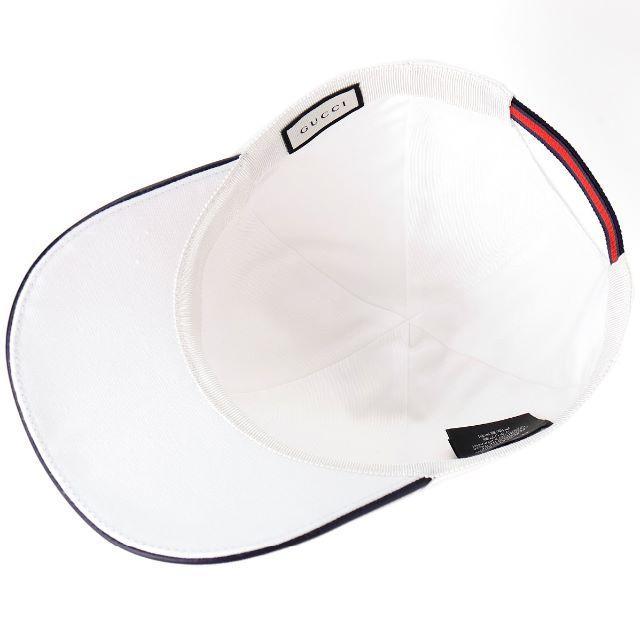 Gucci(グッチ)の4 GUCCI インターロッキングG柄 刺繍入りキャップM レディースの帽子(キャップ)の商品写真