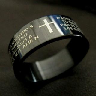 聖書刻印★各サイズ5本のみ直輸入★(リング(指輪))