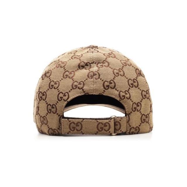 Gucci(グッチ)の8 GUCCI GGキャンバス ベースボールキャップsize S レディースの帽子(キャップ)の商品写真