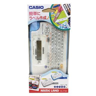 CASIO - ★新品★ カシオ ラベルライター ネームランド KL-P30BU ブルー