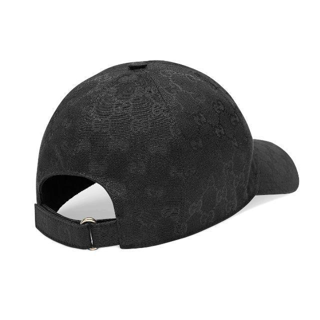 Gucci(グッチ)の9 GUCCI  GGキャンバス ベースボールキャップ size M レディースの帽子(キャップ)の商品写真