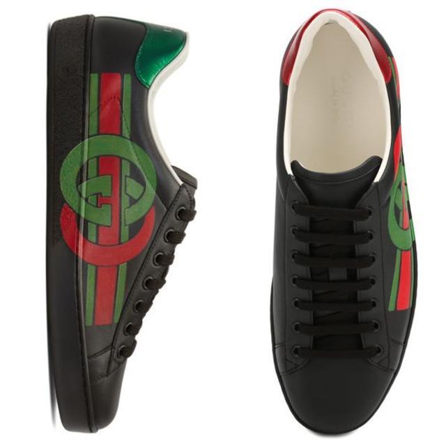 Gucci(グッチ)の02 GUCCI 19awエース インターロッキングGスニーカー9.5 メンズの靴/シューズ(スニーカー)の商品写真