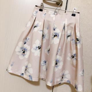 titty&co - titty&co 花柄フレアスカート
