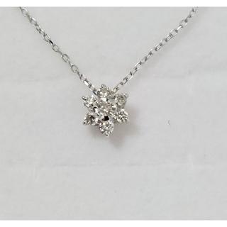 JEWELRY TSUTSUMI - JEWELRY TSUTSUMI K10 ダイヤモンド プチネックレス 4442