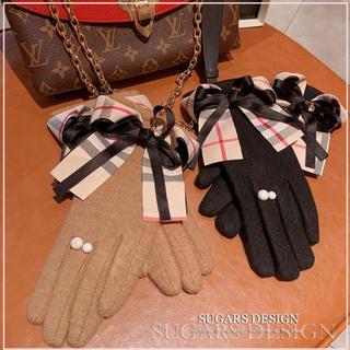BURBERRY - 新品 バーバリーチェック柄 手袋