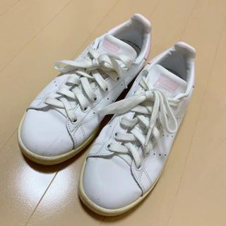 アディダス(adidas)のアディダス スタンスミス スニーカー  adidas ピンク(スニーカー)
