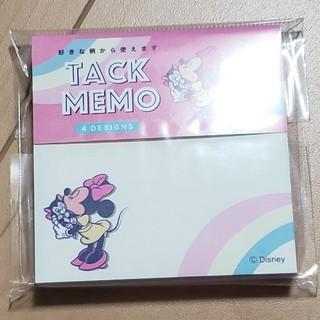 ミニーマウス(ミニーマウス)のミニー マウス  付箋 メモ タックメモ(ノート/メモ帳/ふせん)