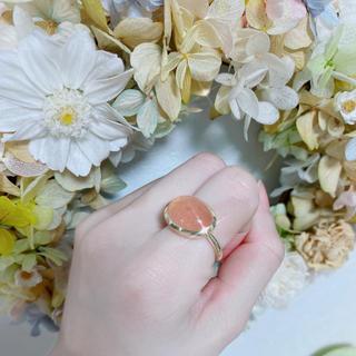 フラワー(flower)の天然石 リング(リング(指輪))