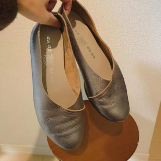 サヴァサヴァ(cavacava)のleather flat shoes(バレエシューズ)