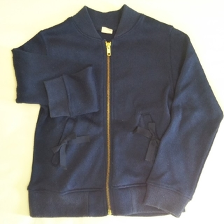 petit main - 売り切れました✨プティマイン 裏起毛 ジャケット 130