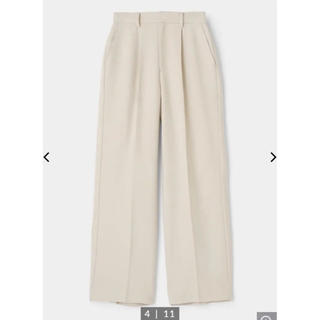 moussy - MOUSSY 新作 STRAIGHT WIDE パンツ ホワイト 美品