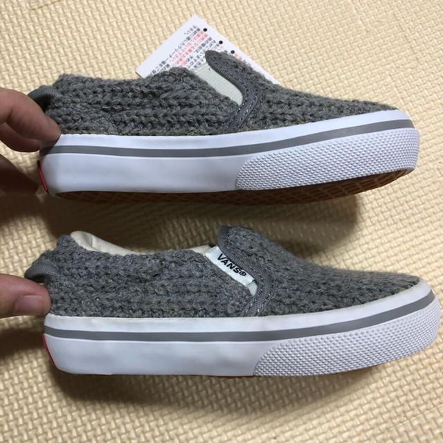 VANS(ヴァンズ)の新品 VANS  スリッポン スニーカー 15㎝ キッズ/ベビー/マタニティのキッズ靴/シューズ(15cm~)(スニーカー)の商品写真