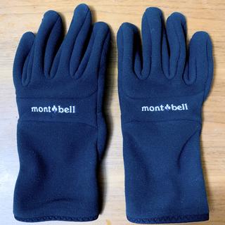 mont bell - 今月購入ほぼ未使用!モンベル スマホ対応 ゴアテックス 防風 防湿 男性XL 黒