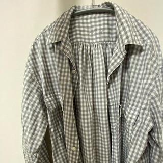 ポーター(PORTER)のポータークラシック×JS ロールアップシャツ グレイ M(シャツ)