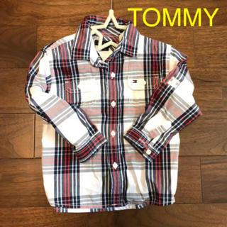 トミーヒルフィガー(TOMMY HILFIGER)のTOMMY HILFIGER シャツ 90〜95(ブラウス)